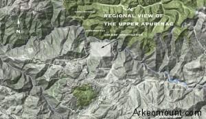 La mappa dell'area - Immagine di Gary Ziegler